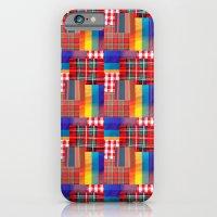 CHECK PATTERN iPhone 6 Slim Case