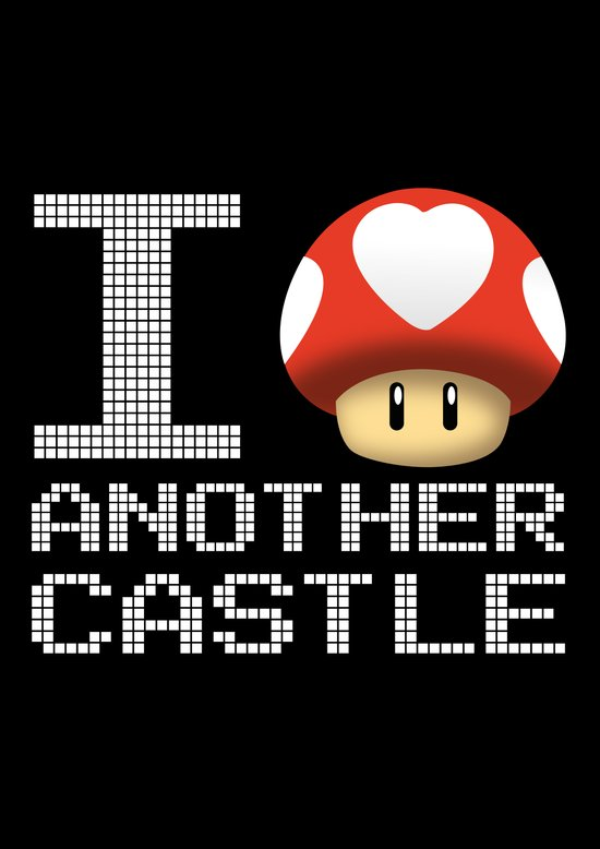 I Love Another Castle Art Print
