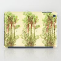 Palmier Rouge - Red Palmtree iPad Case