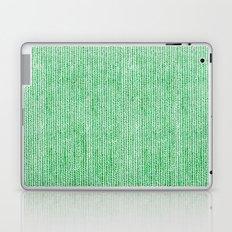 Stockinette Green Laptop & iPad Skin