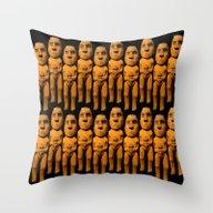 Mannetje Throw Pillow