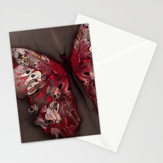 Gothic Butterfly Stationery Cards