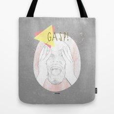 Gasp! Tote Bag