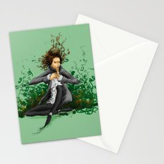 The green thumb curse II Stationery Cards