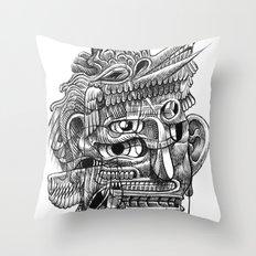 Fright 3 Throw Pillow