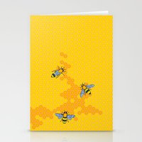 HoneyBees 1 Stationery Cards