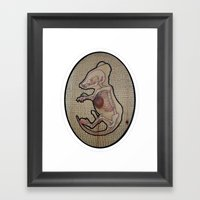 What Remains :: Taxiderm… Framed Art Print