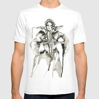 Your Majesty Mens Fitted Tee White SMALL