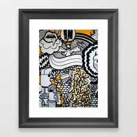 BODY PART III Framed Art Print