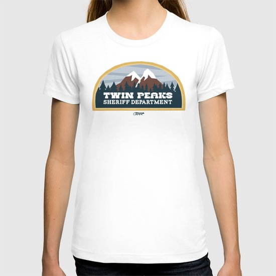 Twin Peaks Sheriff Department (Redux) T-shirt