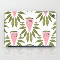 Watermelon And Leaves iPad Case