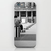 iPhone & iPod Case featuring Full speed ahead into the wall by Tamar Isaak