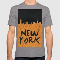 New York (Feat. Filipe R… Mens Fitted Tee Tri-Grey SMALL