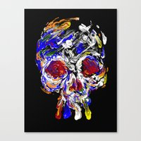 Skully Mix Canvas Print