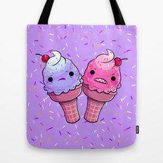 Super Emotional Icecream Tote Bag