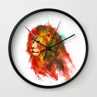 King Of Imaginary Beasts Wall Clock