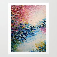 PARADISE DREAMING Colorf… Art Print