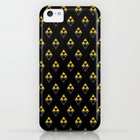 iPhone Cases featuring triforce pattern -black- by CoyoDesign