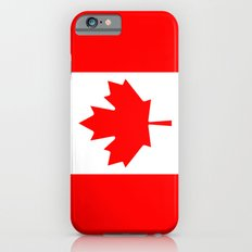 The National Flag of Canada, Authentic color and 3:5 scale version  iPhone 6s Slim Case