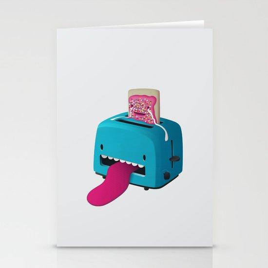 Pop Tart Stationery Card