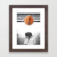 delicate extravaganza Framed Art Print