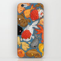 For The Love Of Goldfish iPhone & iPod Skin