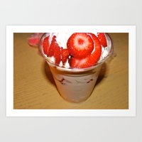Strawberries Galore Art Print