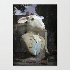 Monsieur Mouton Canvas Print