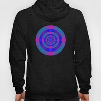 Blue Violet And Pink Tar… Hoody