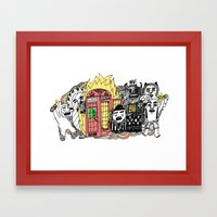 Call It What You Want Framed Art Print