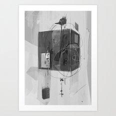 Home d-254 Art Print