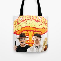 Mythbusters, for science! Tote Bag
