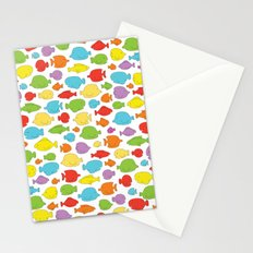 Something fishy going on Stationery Cards