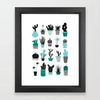 Cactuses Framed Art Print