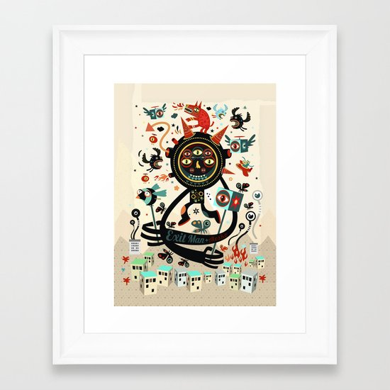 Le Thaumaturge Framed Art Print