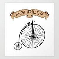 High Rider Art Print