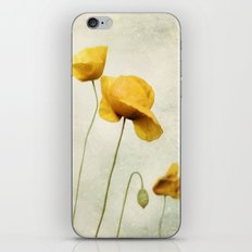 Yellow Poppies iPhone & iPod Skin