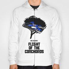 Flight of the Conchords - Hair Helmet Hoody