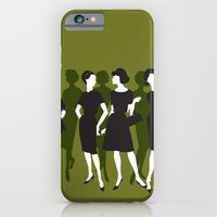 iPhone & iPod Case featuring ladies by modernfred