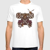Honey Trap Mens Fitted Tee White SMALL