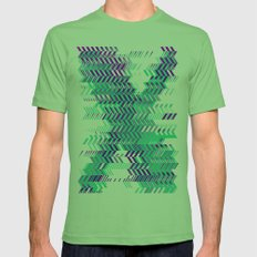 Electro Ex Mens Fitted Tee Grass SMALL