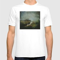 Waiting I Mens Fitted Tee White SMALL