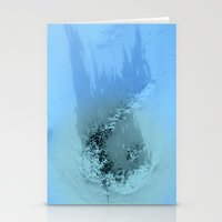 Yesterday Is Gone Stationery Cards