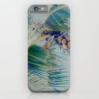 iPhone & iPod Case featuring palm whispers pastels by Sharon Mau