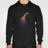 Watercolor Giraffe Hoody