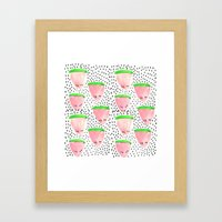 Watermelon Print II Framed Art Print
