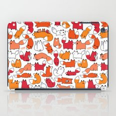 Foxy Foxes Doodle iPad Case