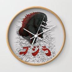 The Great Daikaiju Wall Clock