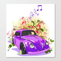 Baby U Can Drive My Car... Yes I'm Gonna Be A Star Canvas Print