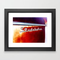 RUSTY CLASSIC Framed Art Print